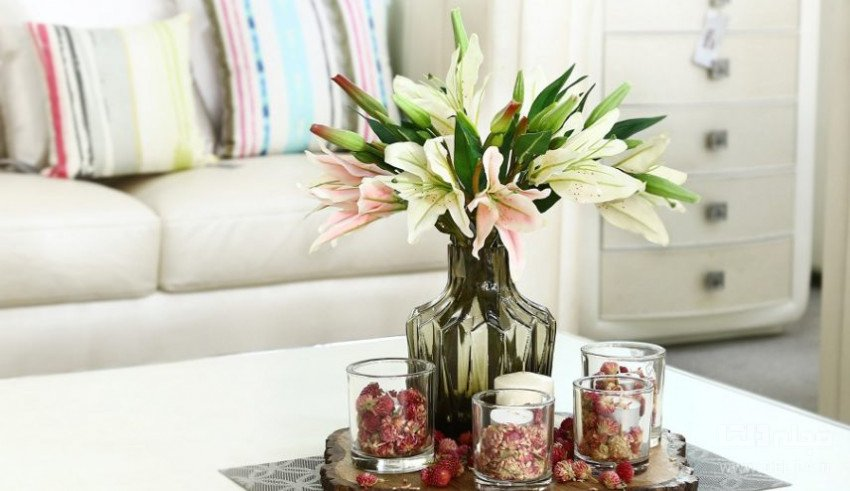 استفاده از گل مصنوعی برای تزیین خانه